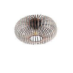 Design ronde plafondlamp roestbruin - Johanna | Lampenlicht Wall Lights, Ceiling Lights, Garden Shop, Outdoor Wall Lighting, Rust Color, Ceiling Lamp, Led Lamp, Save Energy, Pendant Lighting