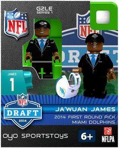 Miami Dolphins OYO Sportstoys Draft Pick Figurine