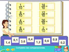 Fracciones decimales desde JUEGOS EDUCATIVOS PIPO #juegos #educación #fracciones #matemáticas