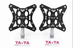 Color Black Bicycle Pedals Aluminum Cruiser Bike Pedalsmtb Pedals Mountain Bike Bicycle Pedals Ultralight >>> You can find more details by visiting the image link. (Note:Amazon affiliate link)