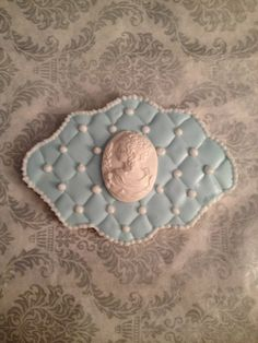 1 Dz Quilted Cameo Plaque Sugar Cookies on Etsy, $36.00