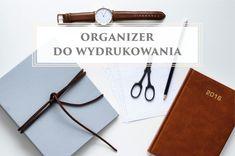Chcesz się dobrze zorganizować? Wiecznie brakuje Ci czasu? Wydrukuj ten darmowy planer i zyskaj kontrolę nad swoim dniem. Back To School, Diy And Crafts, Bullet Journal, Notes, Organization, Templates, Blog, Getting Organized, Report Cards