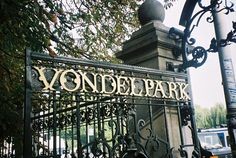Vondel Park is a must see if you go to Amsterdam!