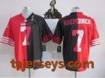 2013 NEW Super Bowl XLVII NFL San Francisco 49ers 7 Colin Kaepernick jersey Price:$22