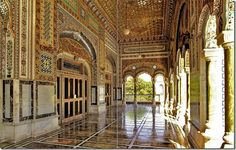 Exuberance of decoration and attention to detail is evident. (Bhong Mosque, Rahimyar Khan, Pakistan