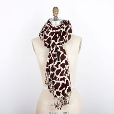 Giraffe Scarf now featured on Fab.