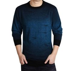 Casual Brand knitted Sweater Men christmas slim knitwear winter male polo sweter O-Neck patterns pullover sweaters pull homme Mens Fashion Sweaters, Sweater Fashion, Cashmere Sweater Men, Men Sweater, Polo Sweater, Cashmere Wool, Men With Street Style, Fashion Brand, Men's Fashion