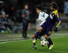 Bilder der Partie Maribor gegen Schalke.