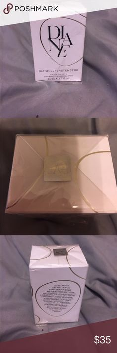 Diane by Diane von furstenburg perfume 1.7 oz. brand new just opened sealed package to look at bottle. Never been used Diane von Furstenberg Other