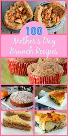 100 Brunch Recipes for Mother's Day on RachelCooks.com