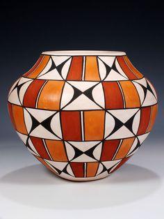 Acoma Pueblo Hand Coiled Pottery