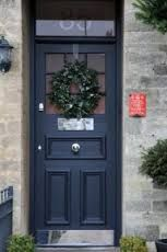door in farrow and ball colour railings -