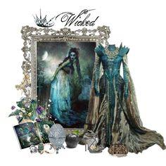Wicked by mystimorgan Fairytale Fashion, Fairytale Dress, Princess Kitty, Evening Dresses, Prom Dresses, Mermaid Fairy, Stephen Webster, Bridal Crown, Costume Dress