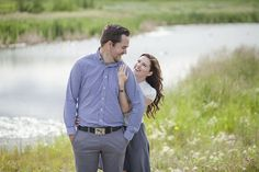 Rustic farm engagement session couples pose ideas www.cwillsphotography.com