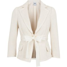 Moschino Cheap & Chic Bow front cotton jacket and other apparel, accessories and trends. Browse and shop 8 related looks.