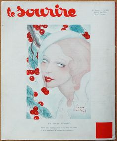 Sacha Zaliouk (1887 – 1971). Le Sourire, 7 Juin 1934. [Pinned 27-iii-2016]