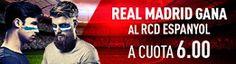 el forero jrvm y todos los bonos de deportes: sportium Supercuota 6 Real Madrid gana Espanyol 1 ...