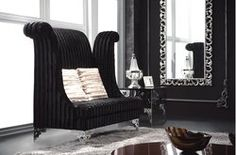 Shop luxury & high-end Italian furniture designs at IDUS to recreate home and office with designer sofas, luxury bed design, premium dining table set, ergonomic chair and much more. High Back Accent Chairs, High Back Chairs, Cool Furniture, Living Room Furniture, Furniture Design, Furniture Ideas, Elegant Living Room, Elegant Home Decor, Sofa Design
