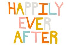 Happily Ever After by ashleyg on Etsy, $28.00