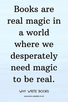 Books Are Real Magic