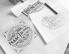 Handlettered Logotypes vol.5, 2015-2016 on Behance