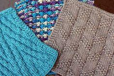Kitchen Knitted Dishcloth 3 - set of 3 by Deb Buckingham