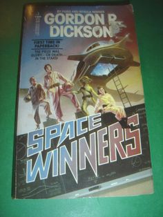 SPACE WINNERS BY GORDON R. DICKSON 1986 1ST TOR PB