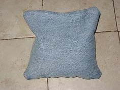 Experiment MOM: Upcycled Challenge: Denim to bean bags #freefromtrash