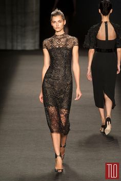 Monique Lhuillier Fall 2014 Collection | Tom & Lorenzo Fabulous & Opinionated