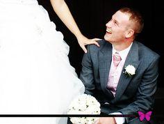 Wedding Photography Gateshead, bridal photography, bride and groom, church wedding, veil, princess dress, wedding dress, white wedding dress, groom, pink waistcoat and cravat --- www.effiesphotography.co.uk --- weddings@effiesphotography.co.uk