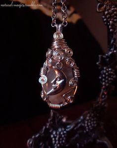 Moonstone Amulet by NaturalMagics - https://www.etsy.com/shop/naturalmagics