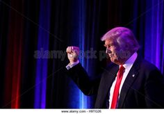Republican presidential nominee Donald Trump arrives for his election night rally at the New York Hilton Midtown in Manhattan, New York, USA. (Stock Photo)  REUTERS / Alamy www.alamy.com http://www.alamy.com/stock-photo-republican-presidential-nominee-donald-trump-arrives-for-his-election-126543934.html