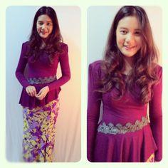 Baju Kurung Moden - Olivia New Design