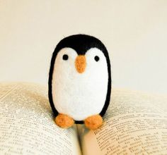 felted penguin