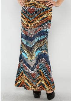 Multi Maxi skirt TDI!  Shannasthreads.com