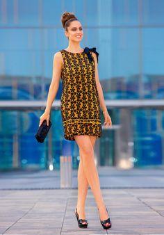 """VESTIDO ENCAJE PAÑUELO HOMBRO http://www.nizaonline.com/es/primavera-verano-2013/mujer/vestidos/#{""""product"""":""""340""""}"""