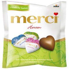 merci Chocolate Hearts Mix 100g