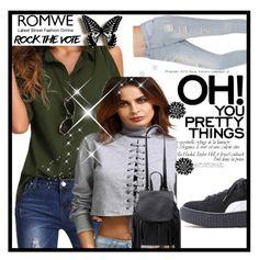 """""""ROMWE 9 / VI"""" by ozil1982 ❤ liked on Polyvore"""