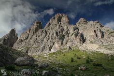 The Dolomites (Italy).  #landscapephotography #mountainphotography
