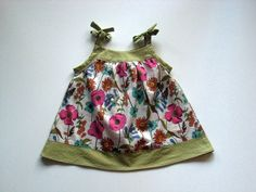 The Tied Summer Dress - cute alteration on Popover dress