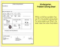 Joyful Learning In KC: Problem Solving In Kindergarten