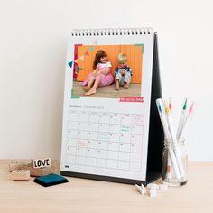 2013 DIY Desk Calendar