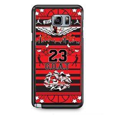 Michael Jordan Too Fly TATUM-7172 Samsung Phonecase Cover Samsung Galaxy Note 2 Note 3 Note 4 Note 5 Note Edge