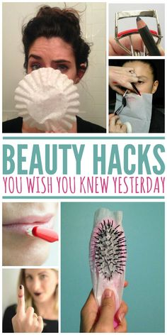 Beauty hacks for the girl on a budget.
