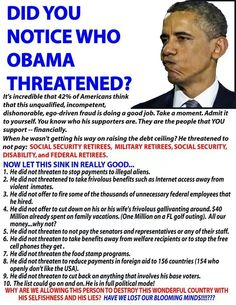 The people Hillary will threaten are the same people obama threatened.