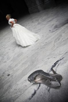 cinderella.....love the shoes not only for wedding but for just a normal outfit