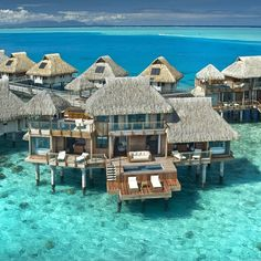 BORA BORA!! Can't believe we're getting to go here for our honey moon!!