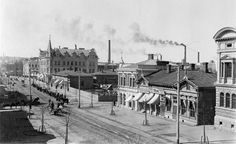 Tampere Centrum Circa 1800-1900 Old Photos, Finland, Paris Skyline, Past, Louvre, Street View, Architecture, Travel, Times