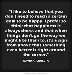 David Archuleta quote