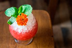 Walk This Way: Essentially a tropical sherry sour, this drink—from the team behind Miami Beach's alt-hostel oasis—mixes together rich cream sherry with tart passion fruit puree and hibiscus syrup for a veritable flower bed of a cocktail.